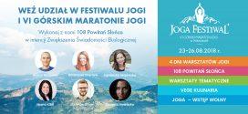 Joga Festiwal już za chwilę
