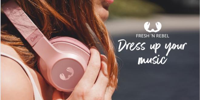 Wycisz swój świat ze słuchawkami Fresh'n Rebel Clam ANC