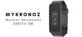MYKRONOZ Monitor aktywności ZEFIT 4 HR