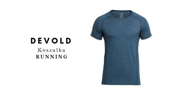 DEVOLD Koszulka RUNNING