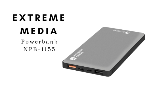 EXTREME MEDIA Powerbank NPB-1155