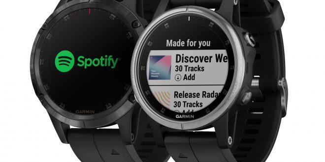 Spotify na zegarkach Garmin!