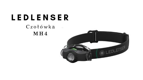 LEDLENSER Czołówka MH4