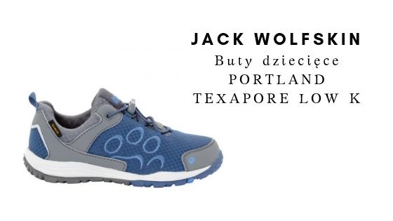 JACK WOLFSKIN Buty dziecięce PORTLAND TEXAPORE LOW K