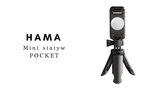 HAMA Mini statyw dla smartphone`ów POCKET