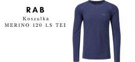 RAB Koszulka MERINO 120 LONG SLEEVE TEE