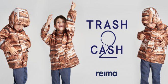 Reima prezentuje koncepcję odzieży dla dzieci w pełni nadającą się do recyklingu