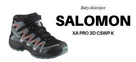SALOMON Buty dziecięce XA PRO 3D MID CSWP K