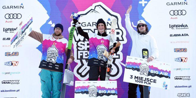 Hannes Rudigier i Tino Stojak triumfują  w Pucharze Europy FIS w Białce Tatrzańskiej