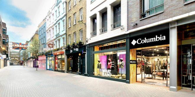 Columbia otwiera nowy sklep przy londyńskiej  Carnaby Street