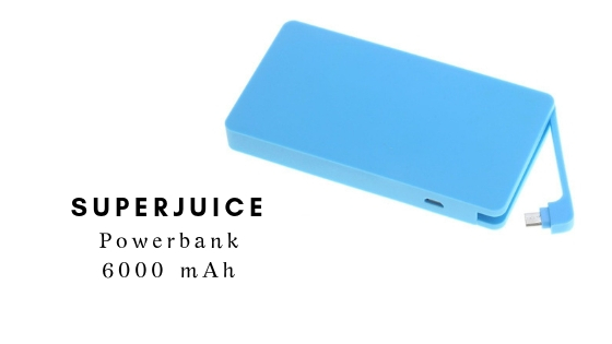 JUICE Powerbank SUPERJUICE 6000 mAh