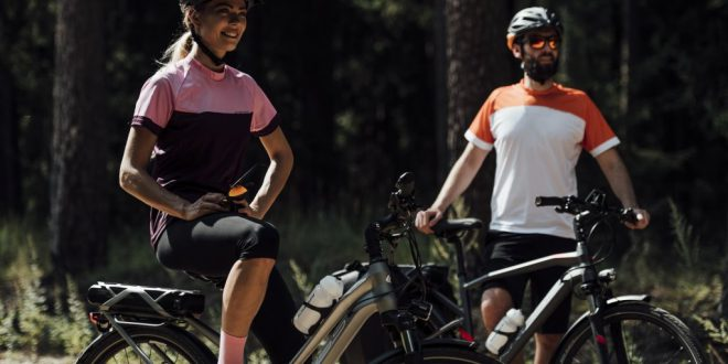 Korzyści z jazdy na rowerze elektrycznym