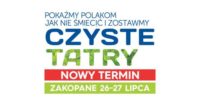 Nowy termin finału Czyste Tatry 2019. Posprzątamy góry 26-27 lipca!