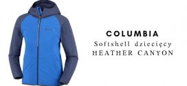 COLUMBIA Dziecięca kurtka softshellowa HEATHER CANYON