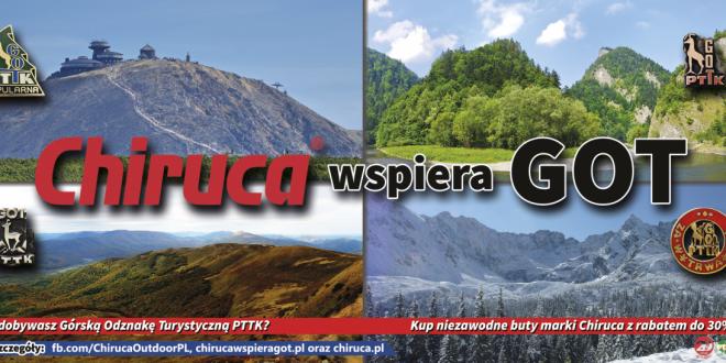 Chiruca wspiera zdobywców Górskiej Odznaki Turystycznej PTTK!