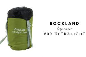 ROCKLAND Śpiwór ULTRALIGHT 800