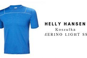 HELLY HANSEN Koszulka MERINO LIGHT SS