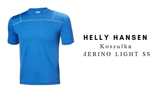 HELLY HANSEN Koszulka MERINO LIGHT SS