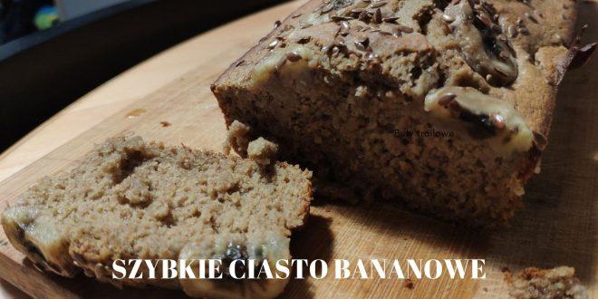 Szybkie ciasto bananowe