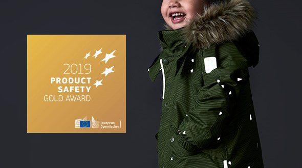 Reima, producent odzieży dla dzieci, laureatem złotej nagrody w konkursie Komisji Europejskiej na Bezpieczne Produkty