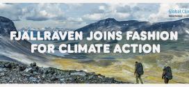 Fjällräven wspiera Program Klimatyczny Narodów Zjednoczonych, licząc na udaną współpracę z branża modową