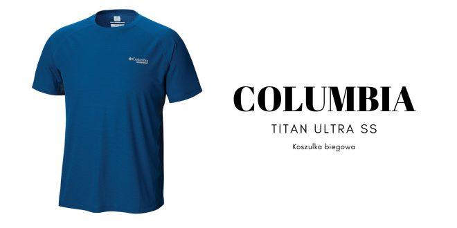 COLUMBIA Koszulka biegowa TITAN ULTRA SS