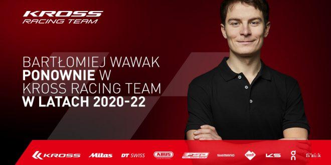 Hit transferowy. Bartłomiej Wawak dołączył do Kross Racing Team!