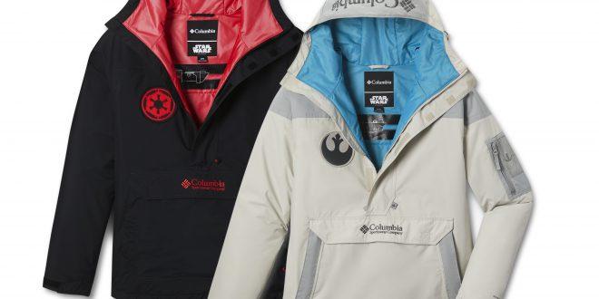 Po której stronie mocy jesteś? Columbia prezentuje kurtki inspirowane filmem  Gwiezdne Wojny
