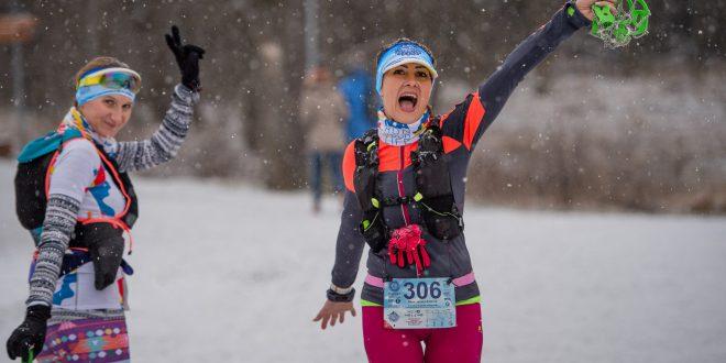 Powtórka sprzed roku. Natalia Tomasiak i Pavel Brydl zwycięzcami Zimowego Półmaratonu Gór Stołowych