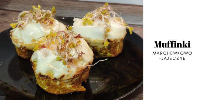Muffinki marchewkowo-jajeczne