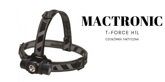 MACTRONIC Czołówka taktyczna T-Force H1L
