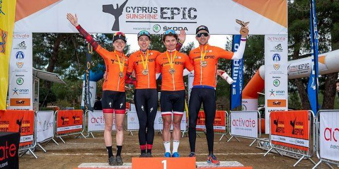 Podwójne zwycięstwo Kross Racing Team! Włoszczowska wygrywa na inaugurację, Cink i Wawak triumfują na Cyprze