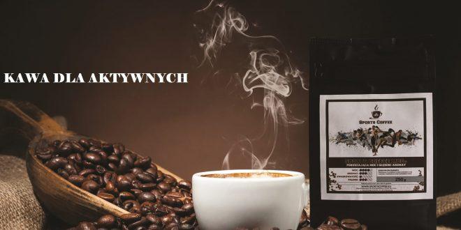 Pierwsza kawa dla biegaczy i osób aktywnych pojawiła się na rynku
