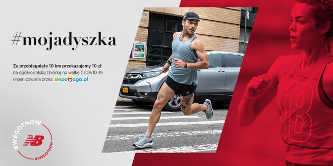 """Biegaj i Pomagaj – Startuje """"#Mojadyszka"""" – Dołącz do akcji New Balance i Fundacji Siepomaga –"""