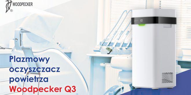 Woodpecker Q3 stylowy plazmowy oczyszczacz powietrza, który niszczy koronawirusy