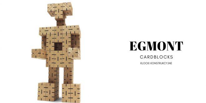 EGMONT Klocki konstrukcyjne CARDBLOCKS