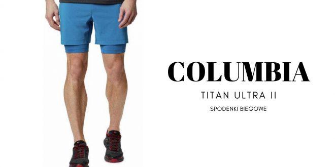 COLUMBIA Spodenki biegowe TITAN ULTRA II