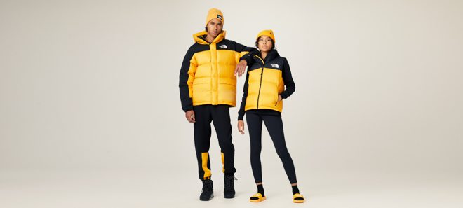The North Face: Yellow Icons