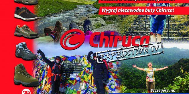 Projekt Chiruca Expedition startuje po raz czwarty! Zgłoś swoją wyprawę i wygraj niezawodne buty dla całej ekipy!