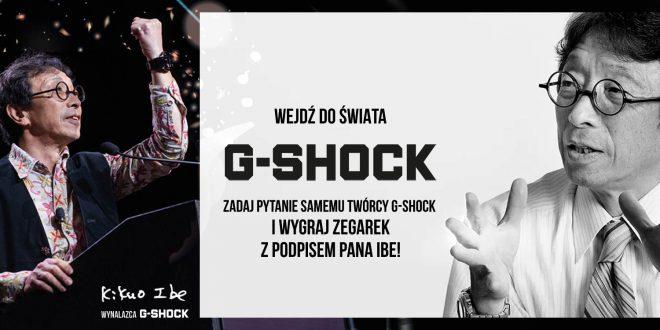 #NEVERGIVEUP – G-SHOCK specjalnie dla Polski!