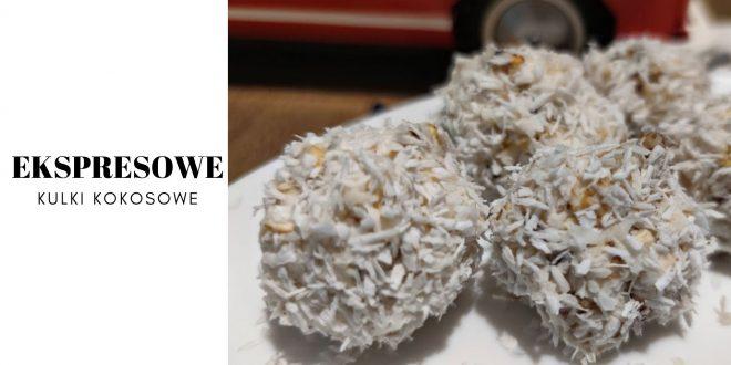 Ekspresowe kulki kokosowe