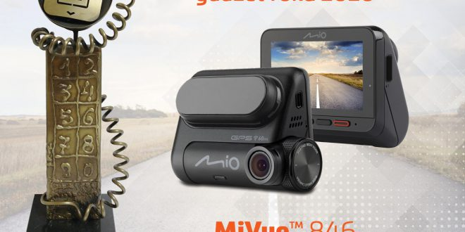 Mio MiVue 846 samochodowym gadżetem roku 2020