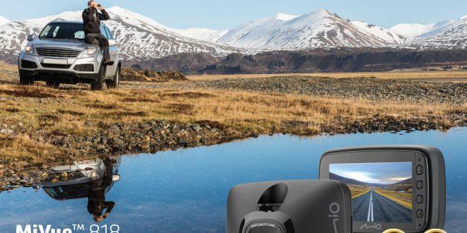 Mio MiVue 818 – pierwsza kamera, która zlokalizuje twoje auto i zewidencjonuje przejazd