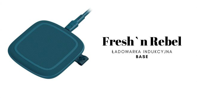 FRESH`N REBEL Ładowarka indukcyjna BASE