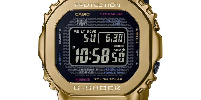 Tytanowy wojownik –  zegarek G-SHOCK GMW-B5000TR-9ER