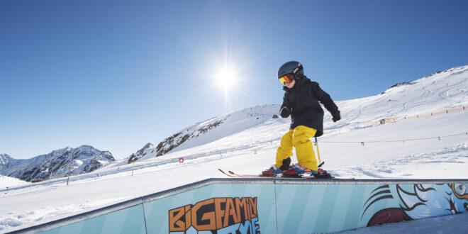 Tyrolskie lodowce- radość do potęgi piątej