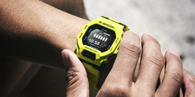 Załoga zegarków G-SHOCK G-SQUAD powiększa się o stylowego sportowca – do gry wchodzi G-SHOCK GBD 200