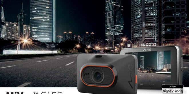 Mio C450 –  kamera samochodowa, która uchwyci każdy szczegół po zmroku